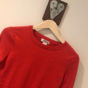 Orvis Burnt Orange Sweater Sz xs